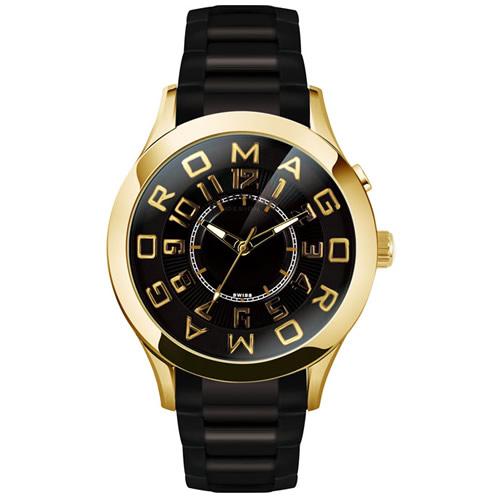 【お買い物マラソンは当店がお得♪本日20より!】ロマゴ デザイン ROMAGO DESIGN 腕時計 メンズ/レディース ATTRACTION アトラクション RM015-0162SS-GDBK
