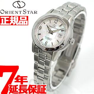 【5日0時~♪10%OFFクーポン&店内ポイント最大51倍!5日23時59分まで】オリエントスター クラシック 腕時計 パールホワイト WZ0411NR ORIENT STAR