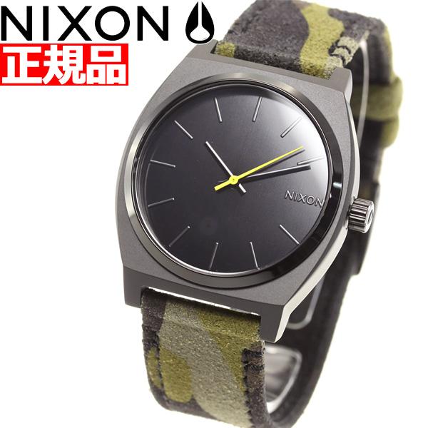 【5日0時~♪最大2000円OFFクーポン&店内ポイント最大51倍!5日23時59分まで】ニクソン NIXON タイムテラー TIME TELLER 腕時計 メンズ レディース BLACK / CAMO / VOLT NA0453054-00