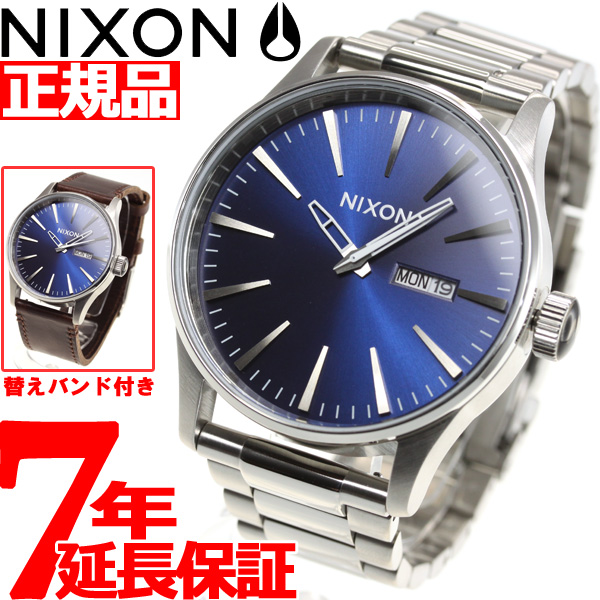 ニクソン NIXON セントリー パック SENTRY PACK 腕時計 メンズ ブルーサンレイ/ブラウン NA11382301-00【2018 新作】