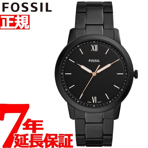 【SHOP OF THE YEAR 2018 受賞】フォッシル FOSSIL 腕時計 メンズ ミニマリスト THE MINIMALIST 3H FS5526【2019 新作】