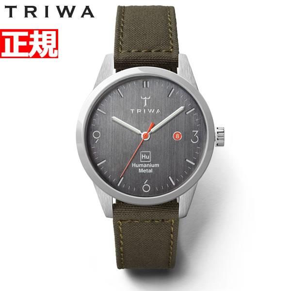 【SHOP OF THE YEAR 2018 受賞】トリワ TRIWA × Humanium Metal コラボ 腕時計 メンズ HU34D-SS080912【2019 新作】