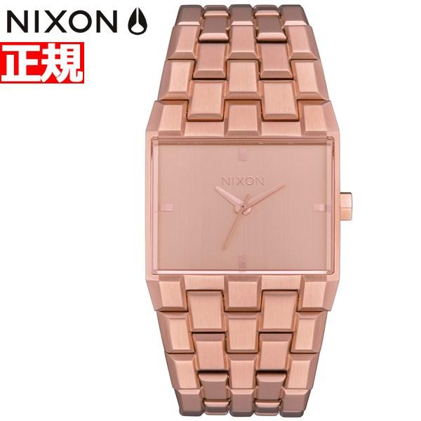 【SHOP OF THE YEAR 2018 受賞】ニクソン NIXON チケット2 TICKET II 腕時計 メンズ レディース オールローズゴールド NA1262897-00【2019 新作】