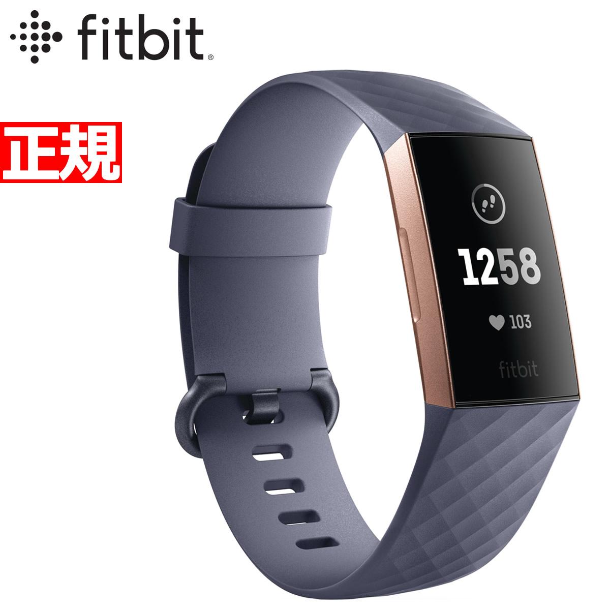 明日0時からはニールがお得♪ 最大2000円OFFクーポン付 Gold! 26日9時59分まで 腕時計!Fitbit フィットビット Charge3 チャージ3 フィットネス フィットネス トラッカー ウェアラブル端末 腕時計 メンズ レディース Blue Grey/Rose Gold FB410RGGY-CJK, Timeless:bdb411ba --- sunward.msk.ru