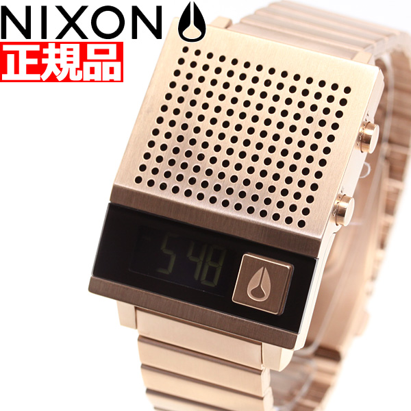 【5日0時~♪10%OFFクーポン&店内ポイント最大51倍!5日23時59分まで】ニクソン NIXON ドーク トゥー DORK TOO 腕時計 メンズ レディース オールローズゴールド NA1266897-00