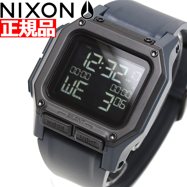 【今だけ10%OFFクーポン付!28日23時59分まで】ニクソン NIXON レグルス REGULUS 日本限定カラー 腕時計 メンズ DARK SLATE NA11802889-00