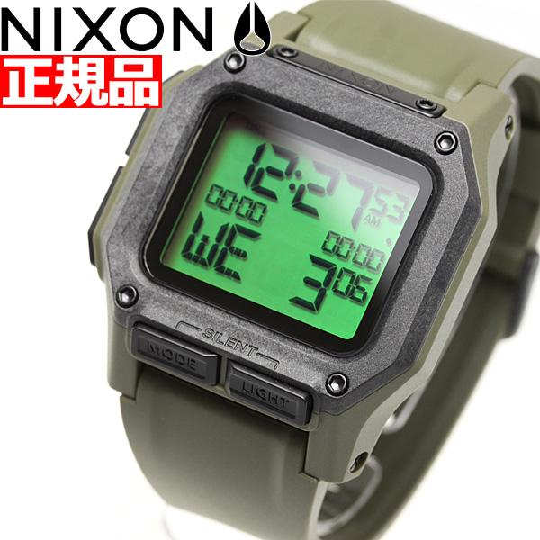 【5日0時~♪10%OFFクーポン&店内ポイント最大51倍!5日23時59分まで】ニクソン NIXON レグルス REGULUS 腕時計 メンズ SURPLUS CARBON NA11803100-00