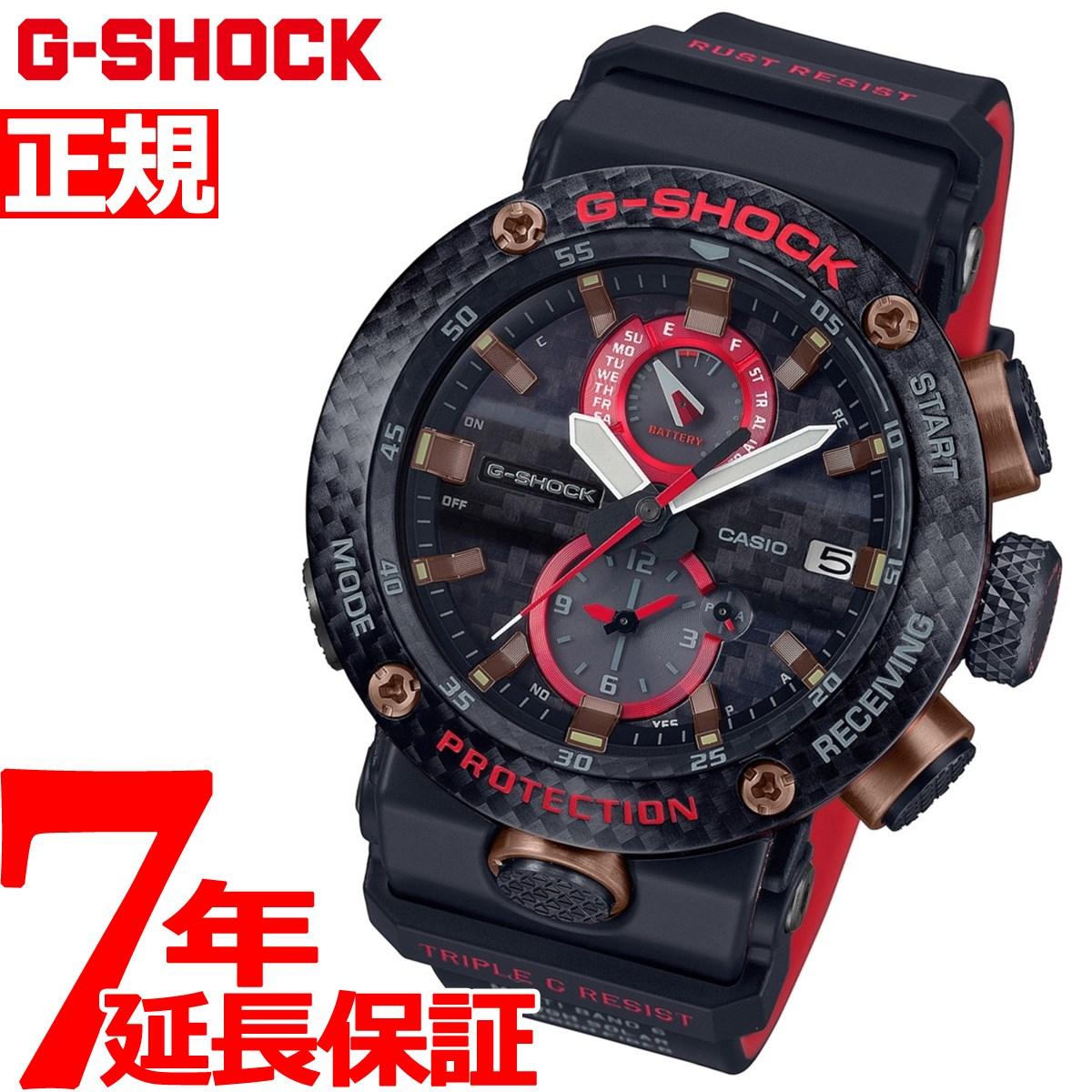 ニールがお得!今ならポイント最大39倍!10日23時59分まで! G-SHOCK カシオ Gショック グラビティマスター CASIO 電波 ソーラー 限定モデル 腕時計 メンズ GWR-B1000X-1AJR【2019 新作】