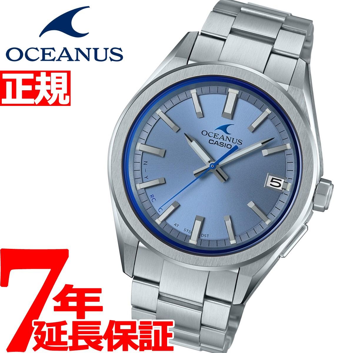 brand new 00dee 7e093 カシオ オシアナス 電波 ソーラー 腕時計 メンズ タフソーラー CASIO OCEANUS CLASSIC LINE  OCW-T200S-2AJF【2019 新作】 neelセレクトショップ