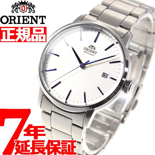 【5日0時~♪2000円OFFクーポン&店内ポイント最大51倍!5日23時59分まで】オリエント ORIENT 腕時計 メンズ 自動巻き メカニカル コンテンポラリー CONTEMPORARY デイト RN-AC0E02S