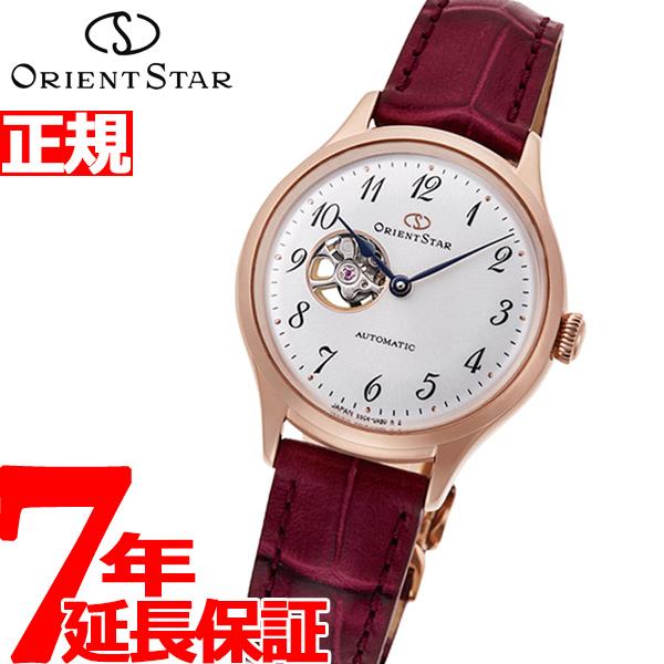 オリエントスター ORIENT STAR 腕時計 レディース 自動巻き メカニカル クラシック セミスケルトン RK-ND0006S【2019 新作】