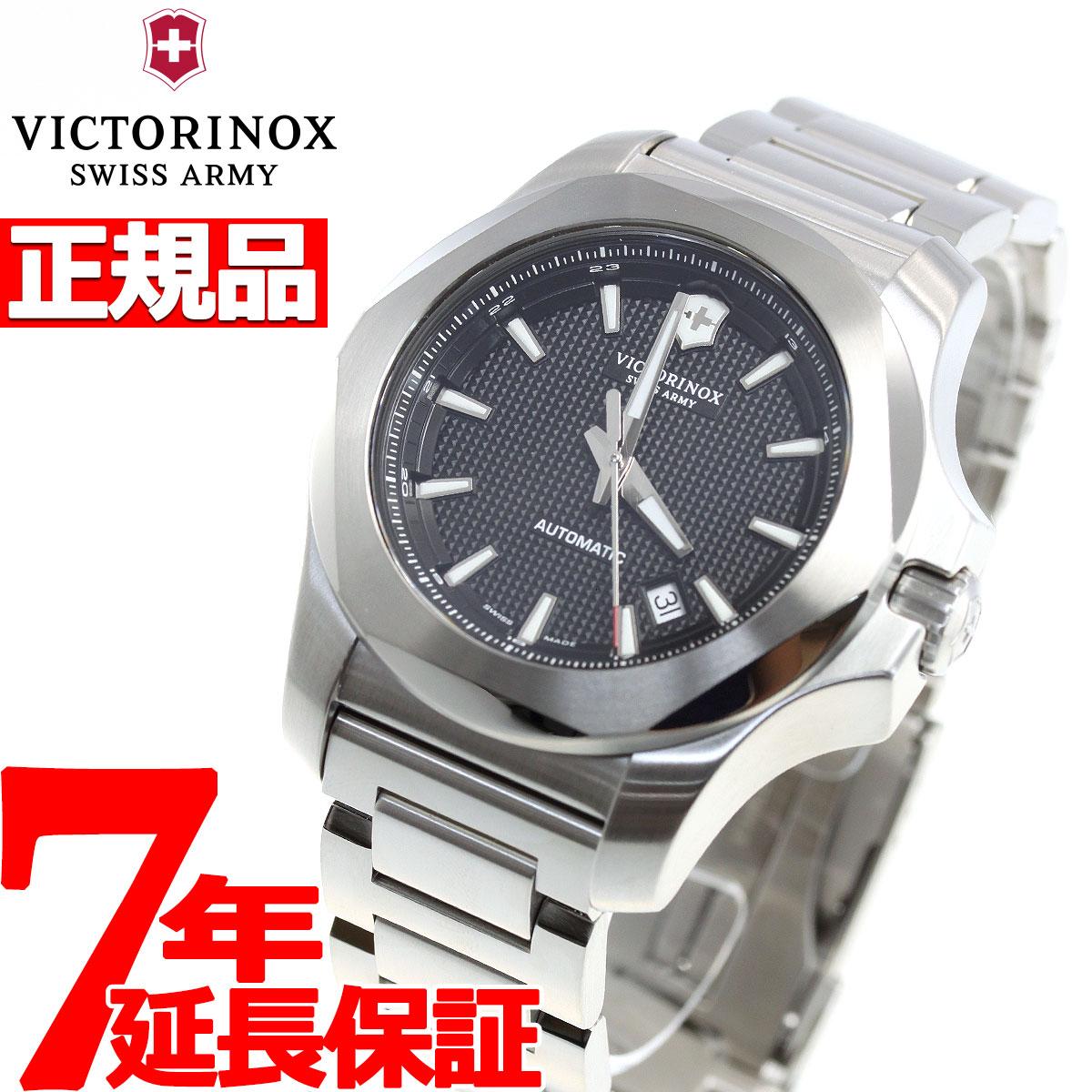 【本日限定!店内ポイント最大60倍&2000円OFFクーポン!10日23時59分まで】ビクトリノックス 時計 メンズ イノックス メカニカル 自動巻き VICTORINOX MECHANICAL 腕時計 I.N.O.X. 241837