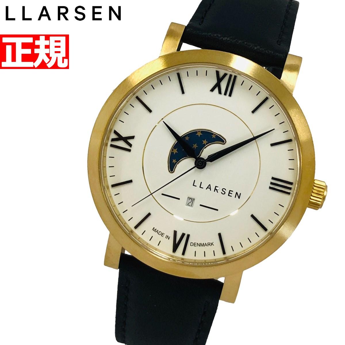 【5日0時~♪2000円OFFクーポン&店内ポイント最大51倍!5日23時59分まで】エルラーセン LLARSEN 腕時計 メンズ ヒューゴ HUGO LL180GWCL【2020 新作】
