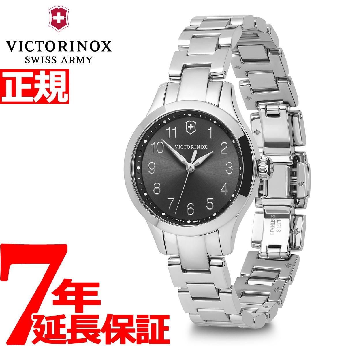 【5日0時~♪2000円OFFクーポン&店内ポイント最大51倍!5日23時59分まで】ビクトリノックス 時計 レディース アライアンス VICTORINOX 腕時計 Alliance XS 241839