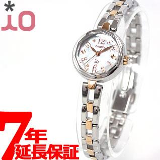 先着!クーポン利用で3000円OFF!16日1時59分まで! オリエント イオ ORIENT io ソーラー 腕時計 レディース スイートジュエリーII WI0191WD