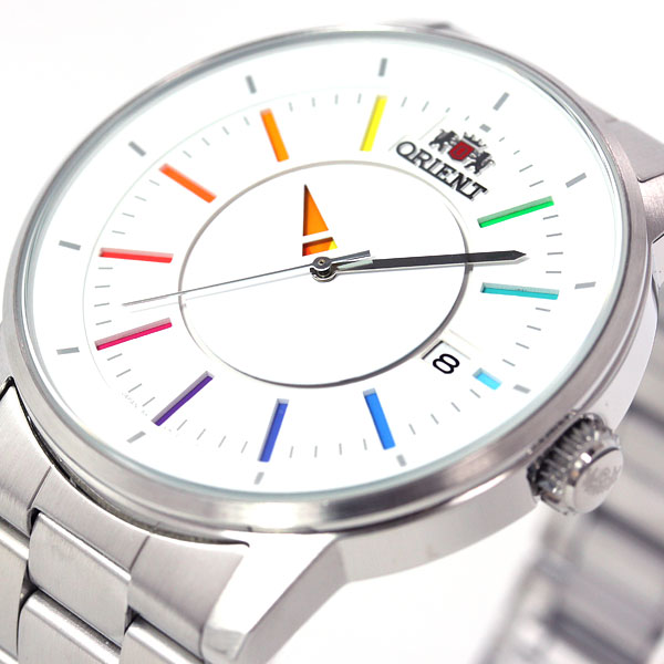 Orient ORIENT stylish & smart disk DISK Rainbow watch mens palocci automatic self-winding WV0821ER