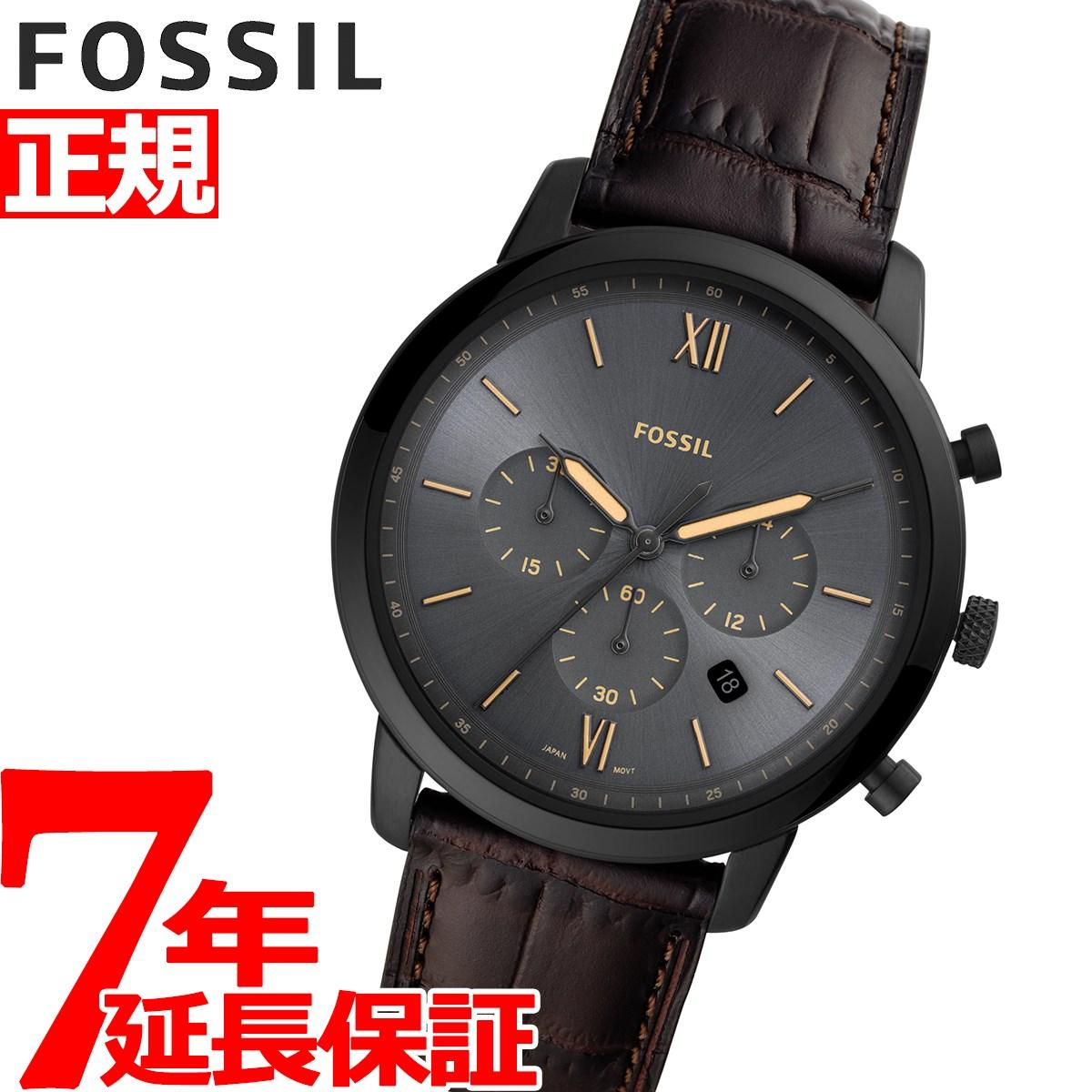 【5日0時~♪2000円OFFクーポン&店内ポイント最大51倍!5日23時59分まで】フォッシル FOSSIL 腕時計 メンズ ニュートラクロノ NEUTRA CHRONO クロノグラフ FS5579