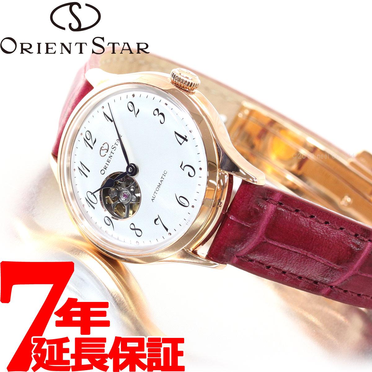 【5日0時~♪10%OFFクーポン&店内ポイント最大51倍!5日23時59分まで】オリエントスター ORIENT STAR 腕時計 レディース 自動巻き メカニカル クラシック セミスケルトン RK-ND0006S