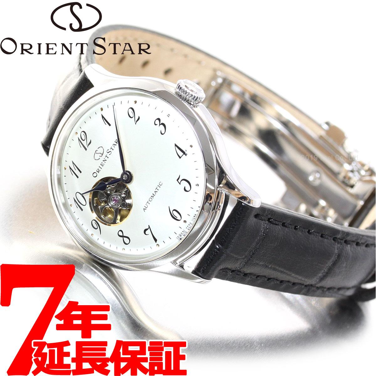 【5日0時~♪10%OFFクーポン&店内ポイント最大51倍!5日23時59分まで】オリエントスター ORIENT STAR 腕時計 レディース 自動巻き メカニカル クラシック セミスケルトン RK-ND0007S