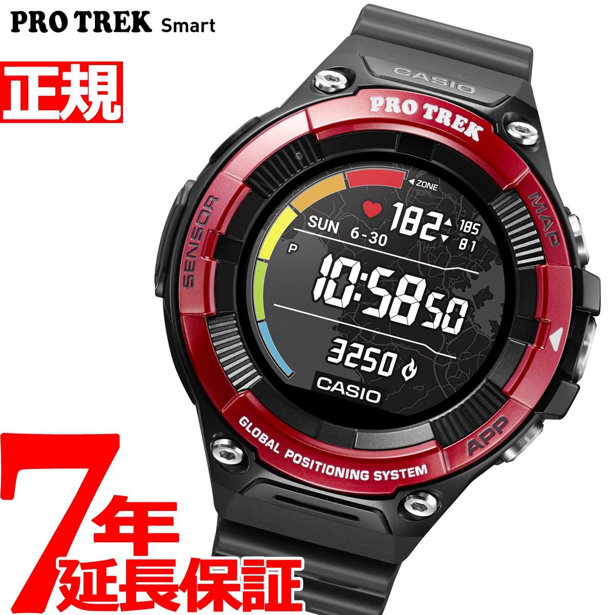 カシオ プロトレック CASIO PRO TREK スマートアウトドアウォッチ Smart Outdoor Watch レッド 腕時計 メンズ WSD-F21HR-RD