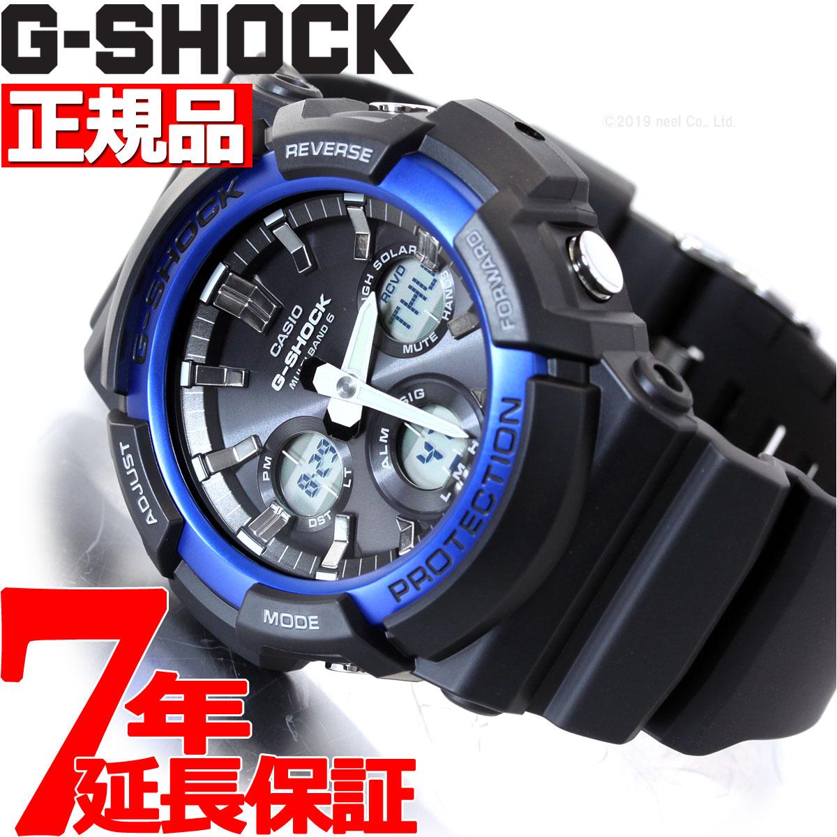 【5日0時~♪2000円OFFクーポン&店内ポイント最大51倍!5日23時59分まで】G-SHOCK 電波 ソーラー 腕時計 メンズ タフソーラー GAW-100B-1A2JF