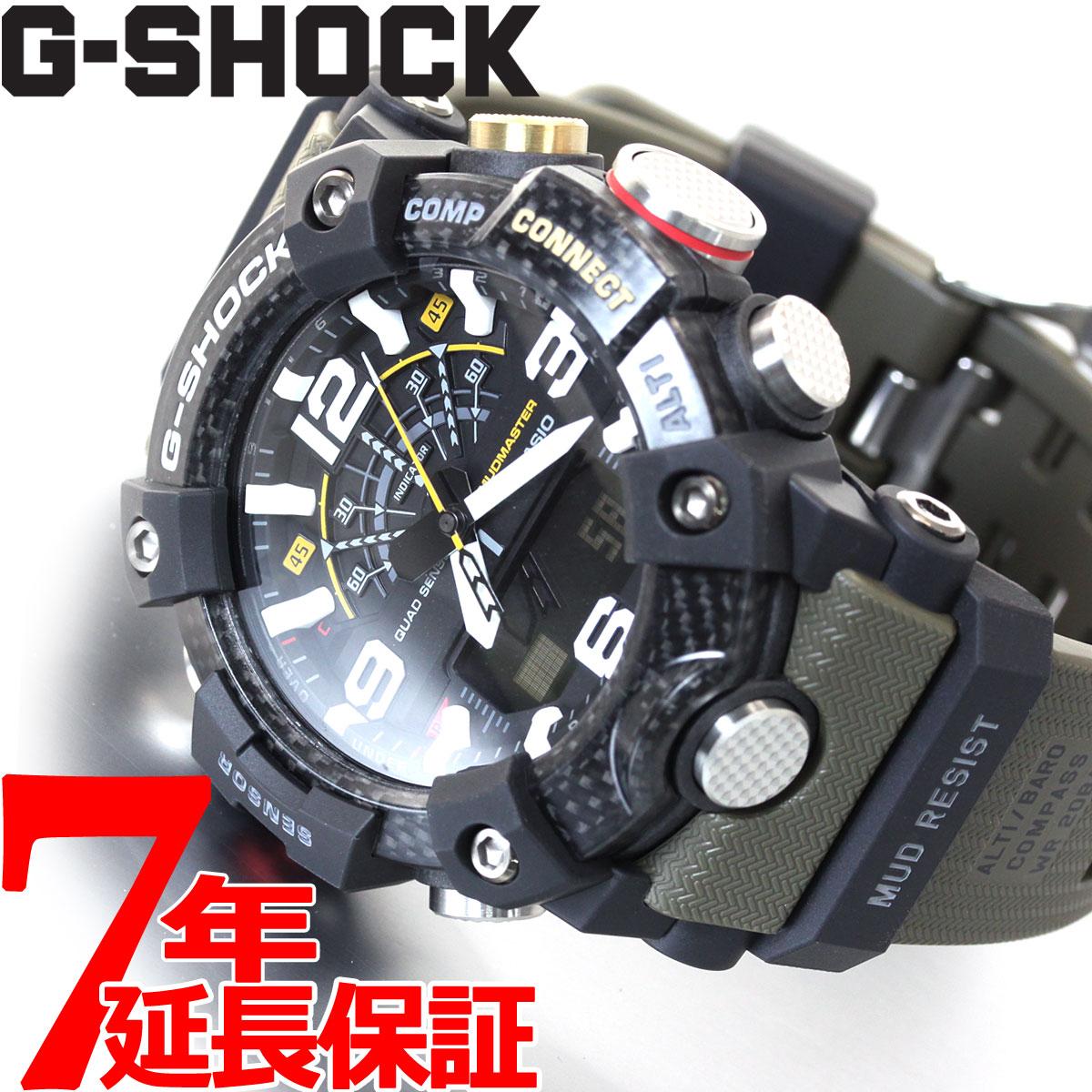 【5日0時~♪2000円OFFクーポン&店内ポイント最大51倍!5日23時59分まで】G-SHOCK カシオ Gショック マッドマスター CASIO 腕時計 メンズ MASTER OF G GG-B100-1A3JF