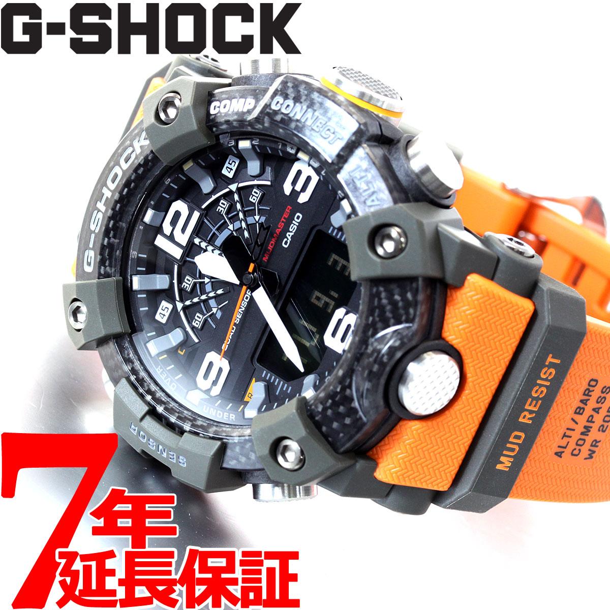 【5日0時~♪2000円OFFクーポン&店内ポイント最大51倍!5日23時59分まで】G-SHOCK カシオ Gショック マッドマスター CASIO 腕時計 メンズ MASTER OF G GG-B100-1A9JF