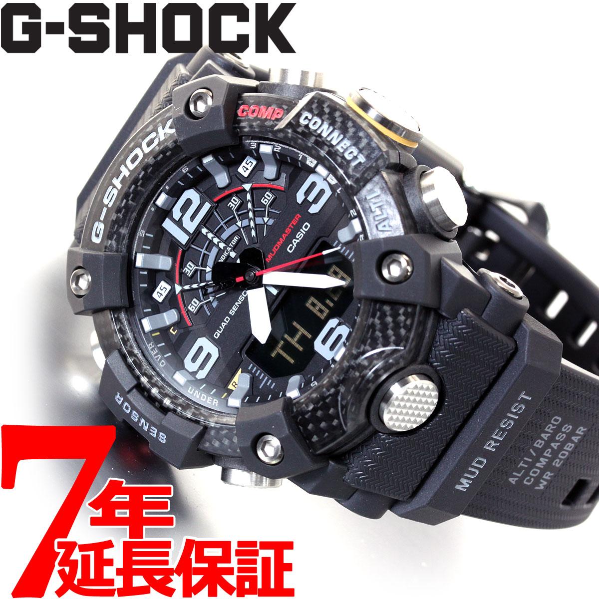 【5日0時~♪2000円OFFクーポン&店内ポイント最大51倍!5日23時59分まで】G-SHOCK カシオ Gショック マッドマスター CASIO 腕時計 メンズ MASTER OF G GG-B100-1AJF