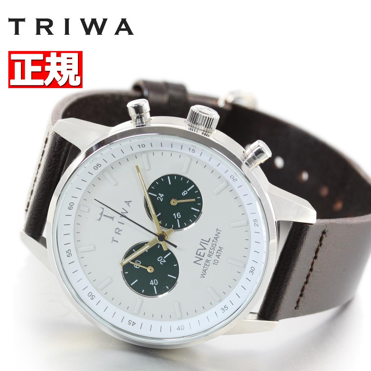 【5日0時~♪2000円OFFクーポン&店内ポイント最大51倍!5日23時59分まで】トリワ TRIWA 腕時計 メンズ EMERALD NEVIL DARK BROWN CLASSIC NEST121-CL010412