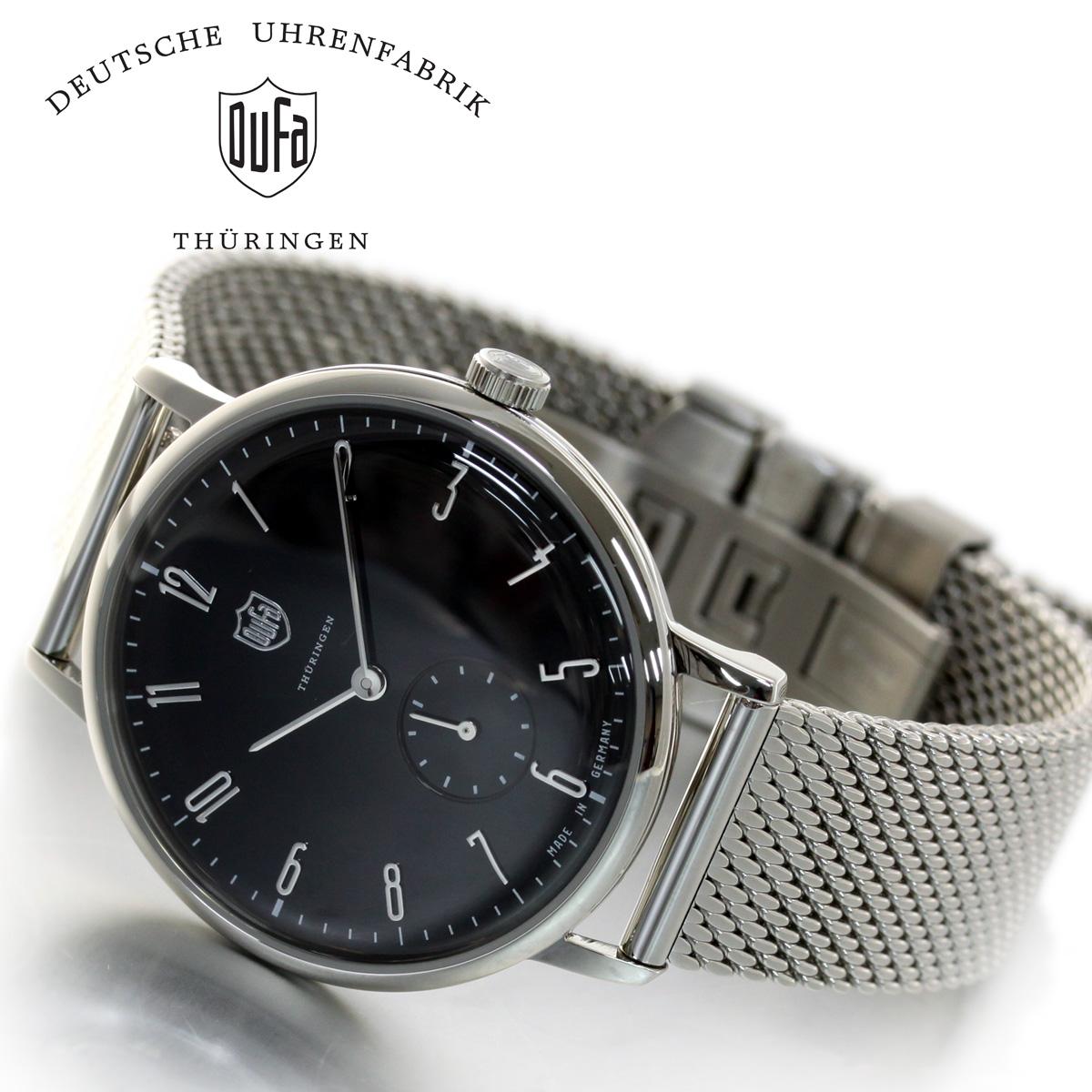 【5日0時~♪10%OFFクーポン&店内ポイント最大51倍!5日23時59分まで】DUFA ドゥッファ Walter Gropius 腕時計 メンズ ヴォルター・グロピウス DF-9001-11