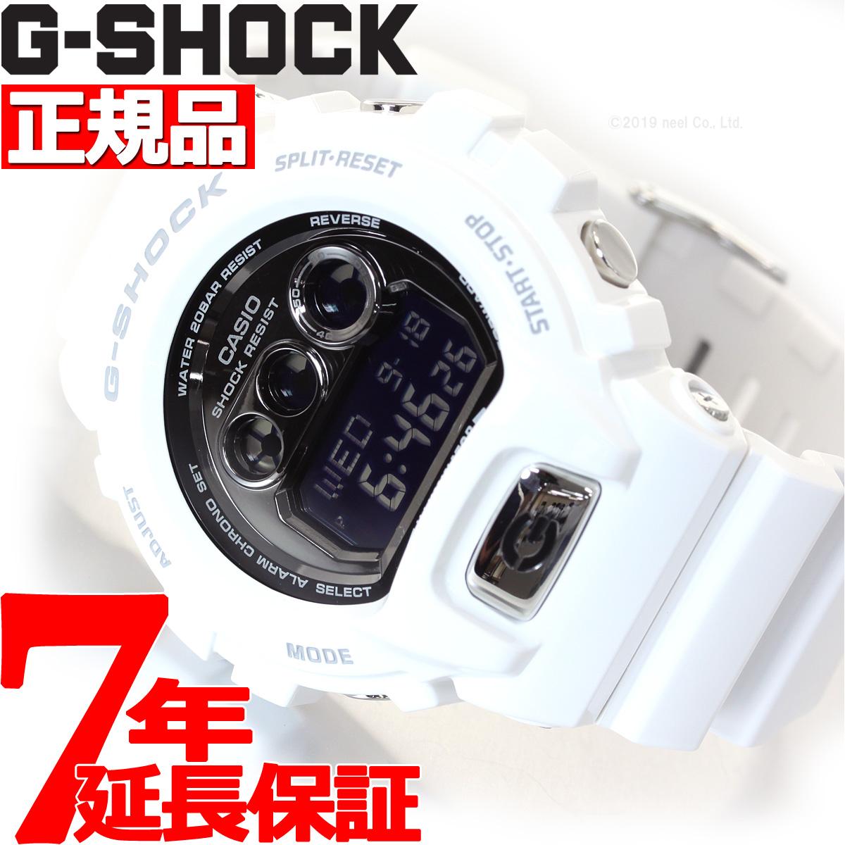 【5日0時~♪2000円OFFクーポン&店内ポイント最大51倍!5日23時59分まで】G-SHOCK ホワイト 白 6900 腕時計 メンズ デジタル GD-X6900FB-7JF