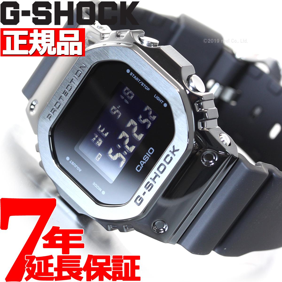 【5日0時~♪2000円OFFクーポン&店内ポイント最大51倍!5日23時59分まで】G-SHOCK デジタル 5600 カシオ Gショック CASIO 腕時計 メンズ GM-5600B-1JF