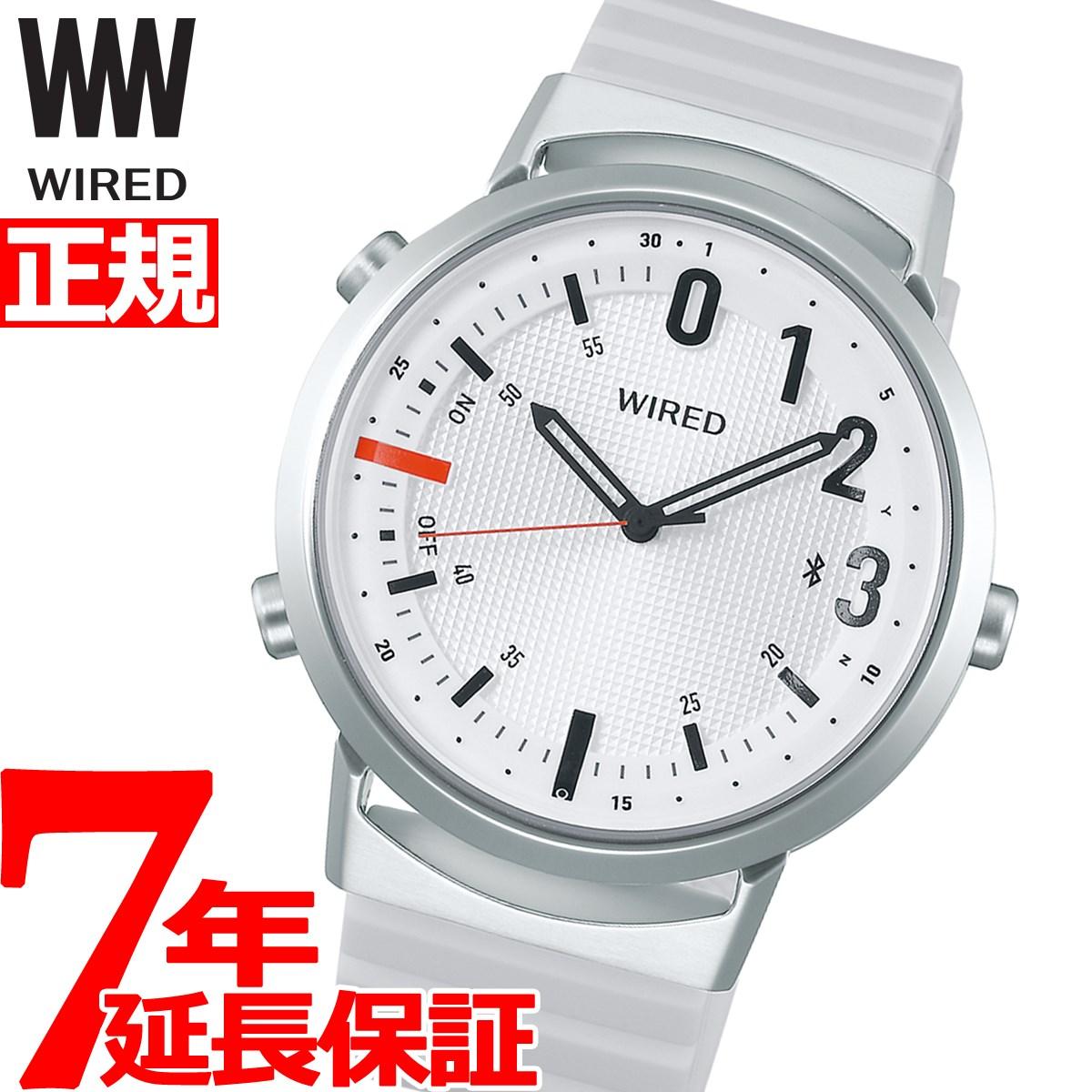 【5日0時~♪2000円OFFクーポン&店内ポイント最大51倍!5日23時59分まで】セイコー ワイアード ツーダブ SEIKO WIRED WW スマートウォッチ Bluetooth 腕時計 メンズ レディース TYPE02 AGAB407