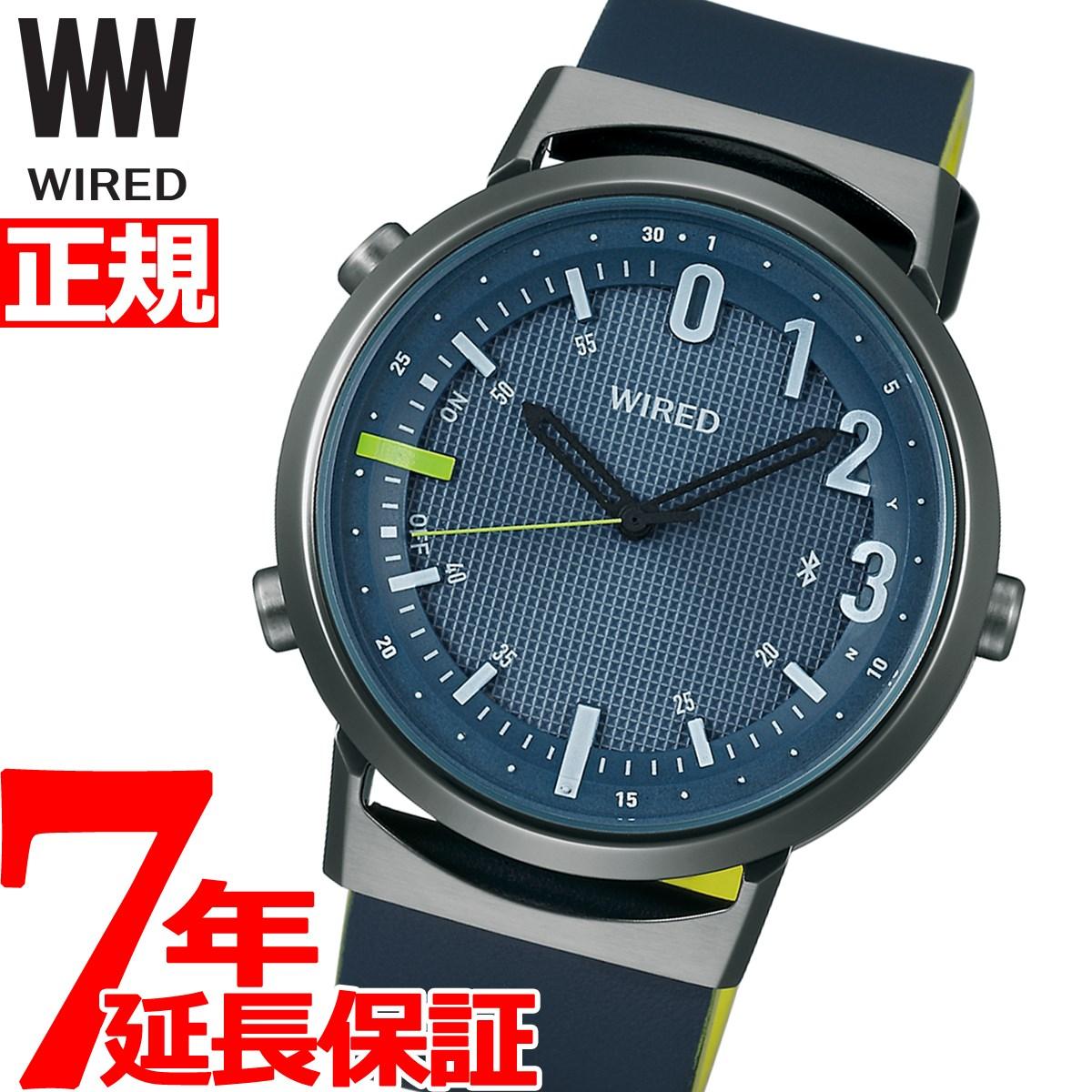 【5日0時~♪2000円OFFクーポン&店内ポイント最大51倍!5日23時59分まで】セイコー ワイアード ツーダブ SEIKO WIRED WW スマートウォッチ Bluetooth 腕時計 メンズ レディース TYPE02 AGAB408