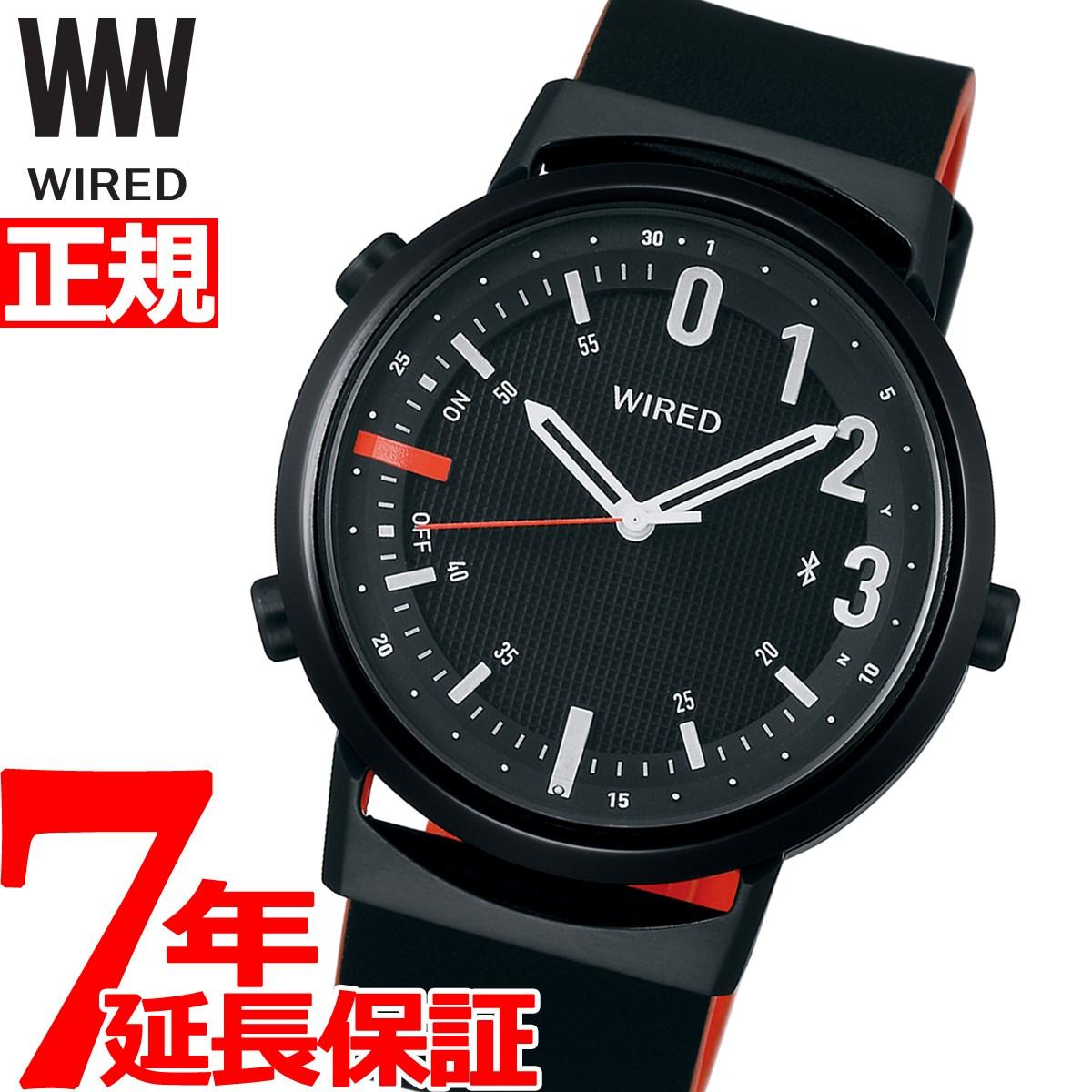 【5日0時~♪2000円OFFクーポン&店内ポイント最大51倍!5日23時59分まで】セイコー ワイアード ツーダブ SEIKO WIRED WW スマートウォッチ Bluetooth 腕時計 メンズ レディース TYPE02 AGAB409