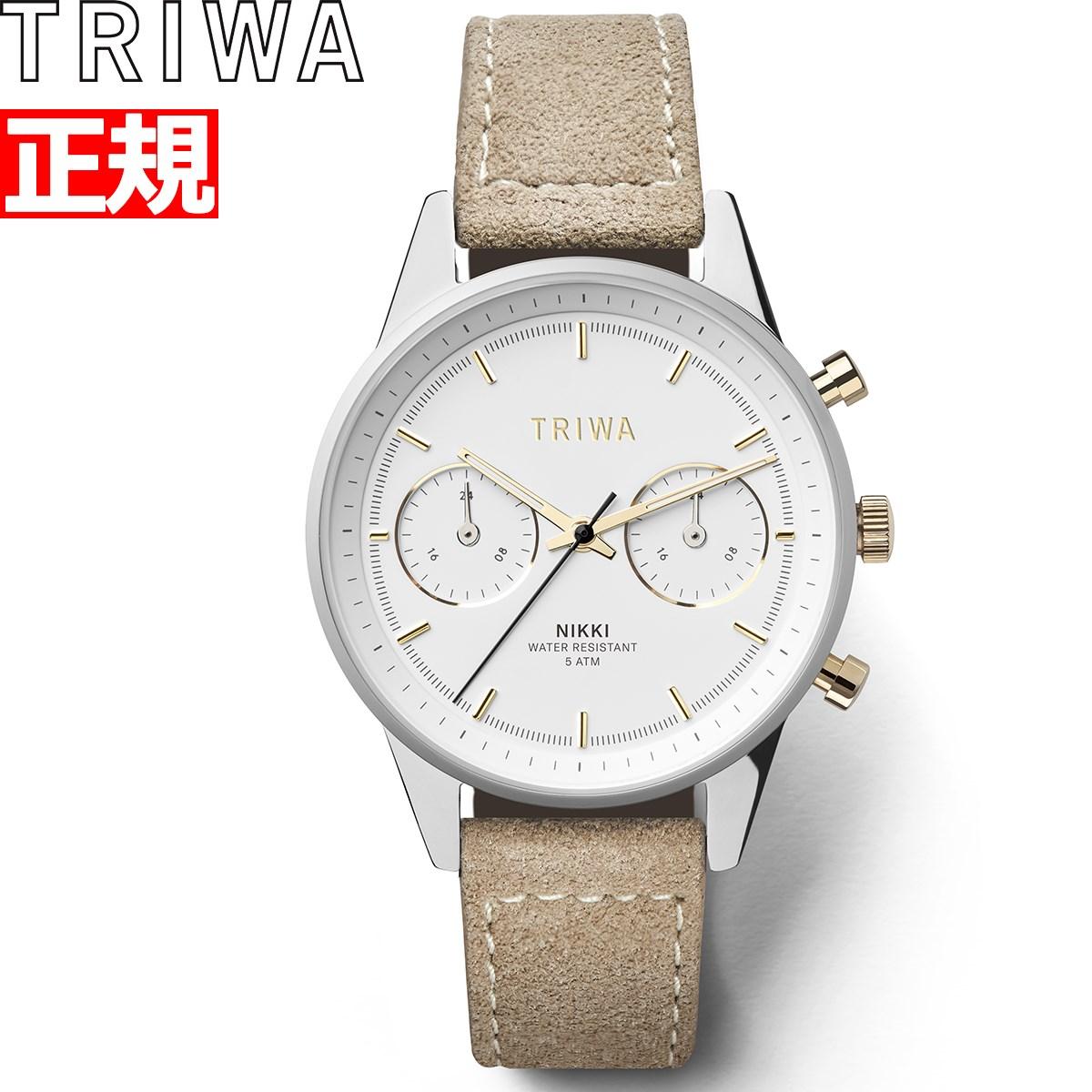 【5日0時~♪2000円OFFクーポン&店内ポイント最大51倍!5日23時59分まで】トリワ TRIWA 腕時計 レディース グリーム ニッキー GLEAM NIKKI NKST101-SW212612P