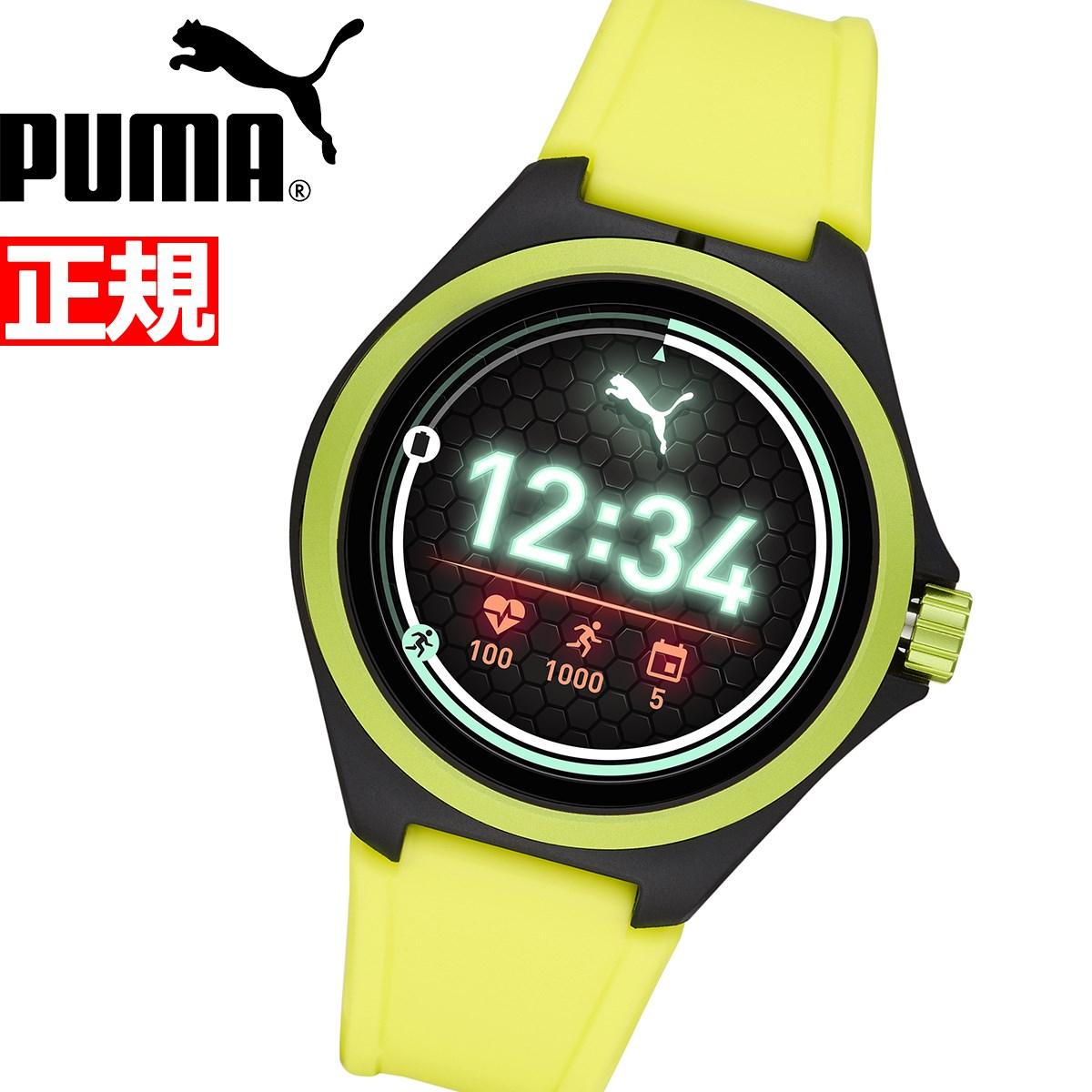 【5日0時~♪10%OFFクーポン&店内ポイント最大51倍!5日23時59分まで】プーマ PUMA スマートウォッチ ウェアラブル 腕時計 メンズ レディース PT9101