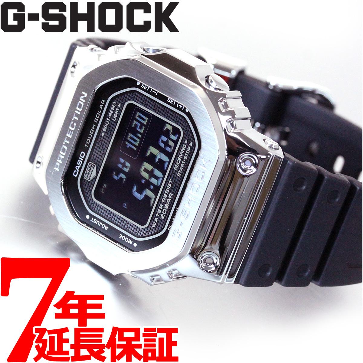 【今だけ!店内ポイント最大49倍!16日1時59分まで】カシオ Gショック CASIO G-SHOCK タフソーラー 電波時計 デジタル 腕時計 メンズ GMW-B5000-1JF【2018 新作】