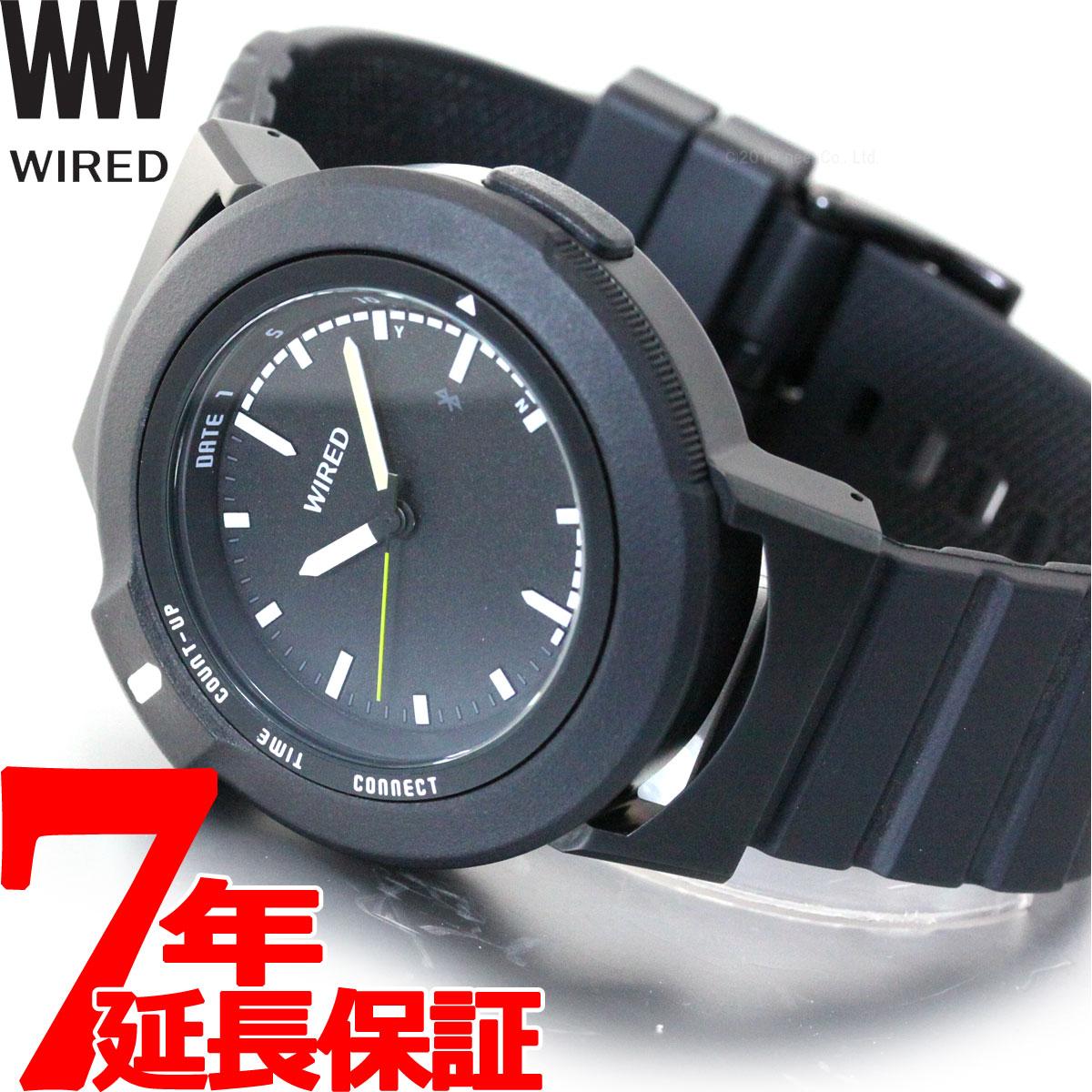 【5日0時~♪2000円OFFクーポン&店内ポイント最大51倍!5日23時59分まで】セイコー ワイアード ツーダブ SEIKO WIRED WW スマートウォッチ Bluetooth 腕時計 メンズ レディース TYPE01 AGAB401