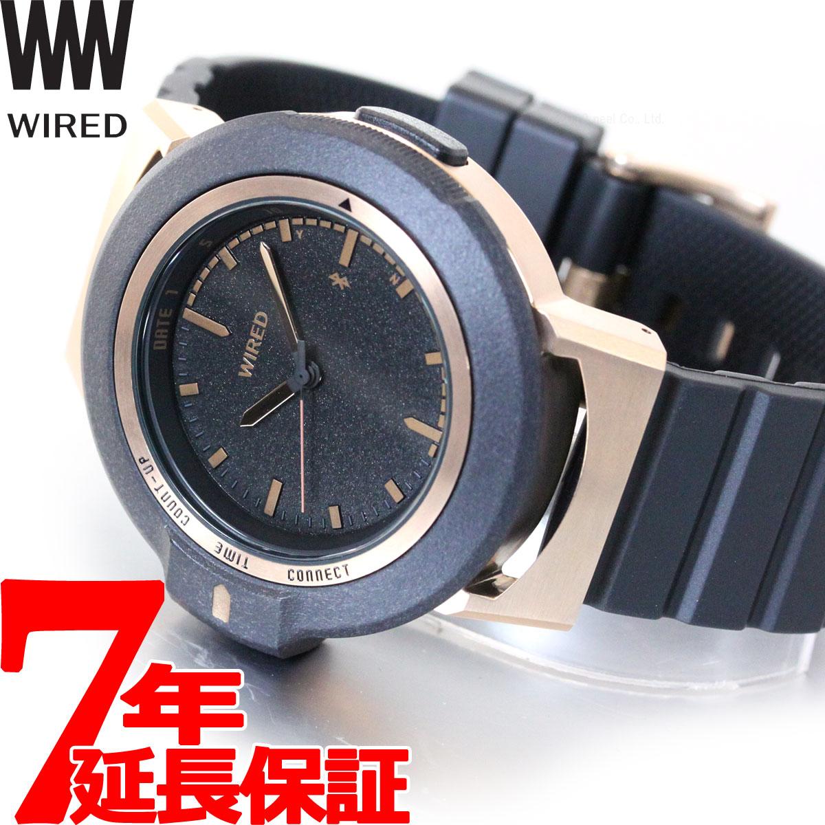 【5日0時~♪2000円OFFクーポン&店内ポイント最大51倍!5日23時59分まで】セイコー ワイアード ツーダブ SEIKO WIRED WW スマートウォッチ Bluetooth 腕時計 メンズ レディース TYPE01 AGAB403