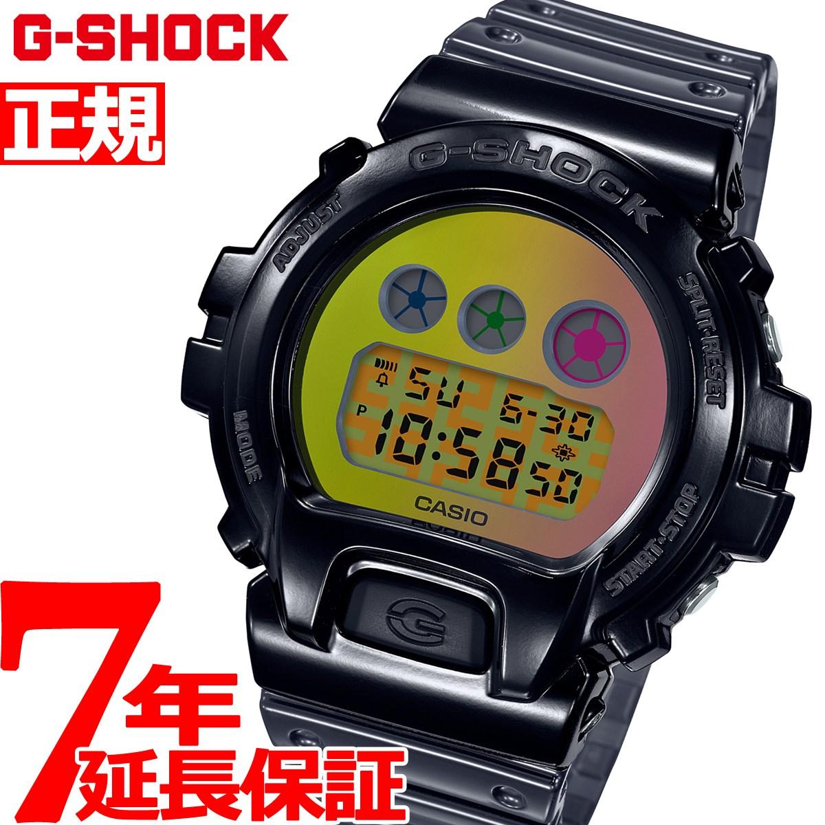 【5日0時~♪2000円OFFクーポン&店内ポイント最大51倍!5日23時59分まで】G-SHOCK カシオ Gショック CASIO 限定モデル 腕時計 メンズ DW-6900 25th Anniversary DW-6900SP-1JR【2020 新作】