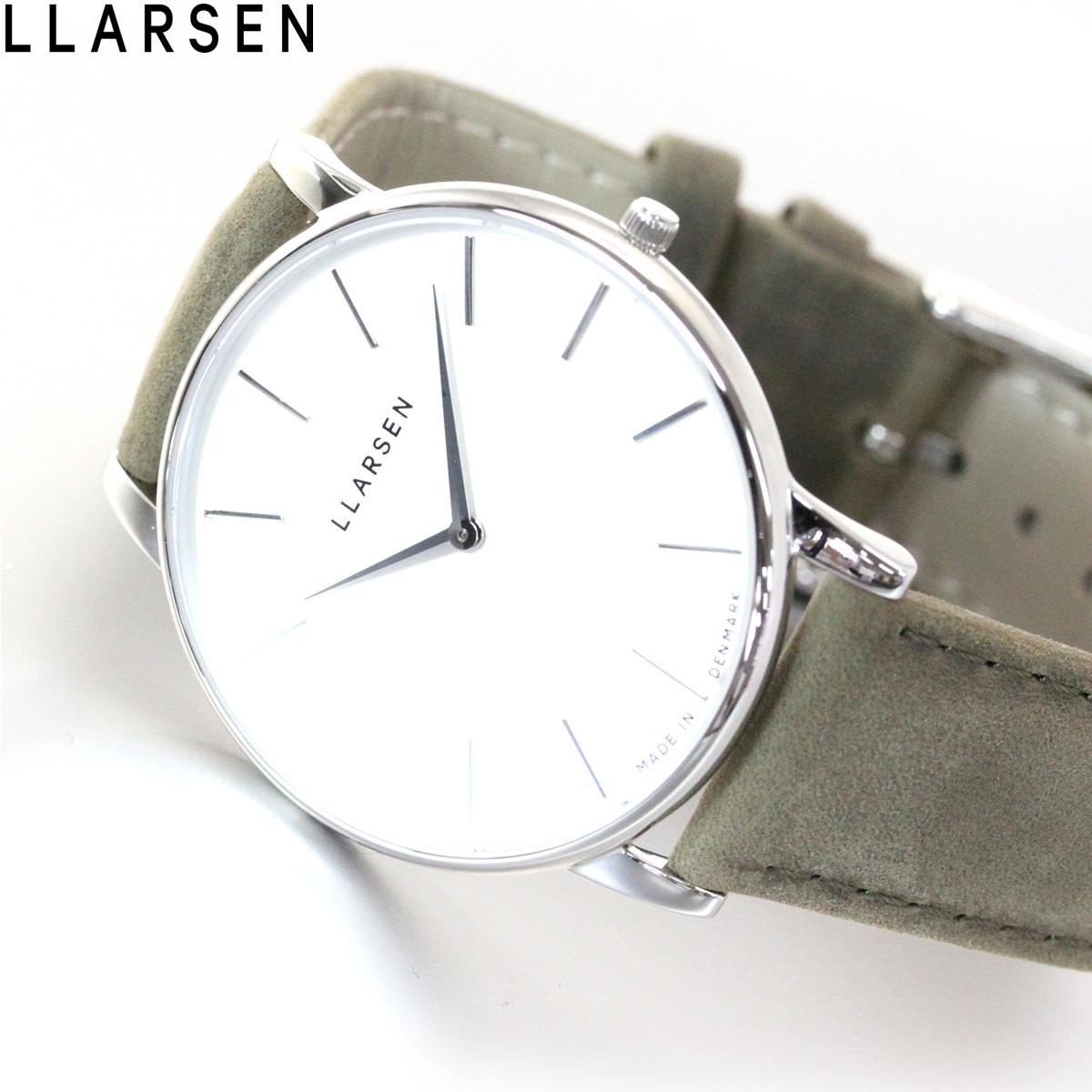 【5日0時~♪2000円OFFクーポン&店内ポイント最大51倍!5日23時59分まで】エルラーセン LLARSEN 腕時計 メンズ オリバー Oliver LL147SWFR