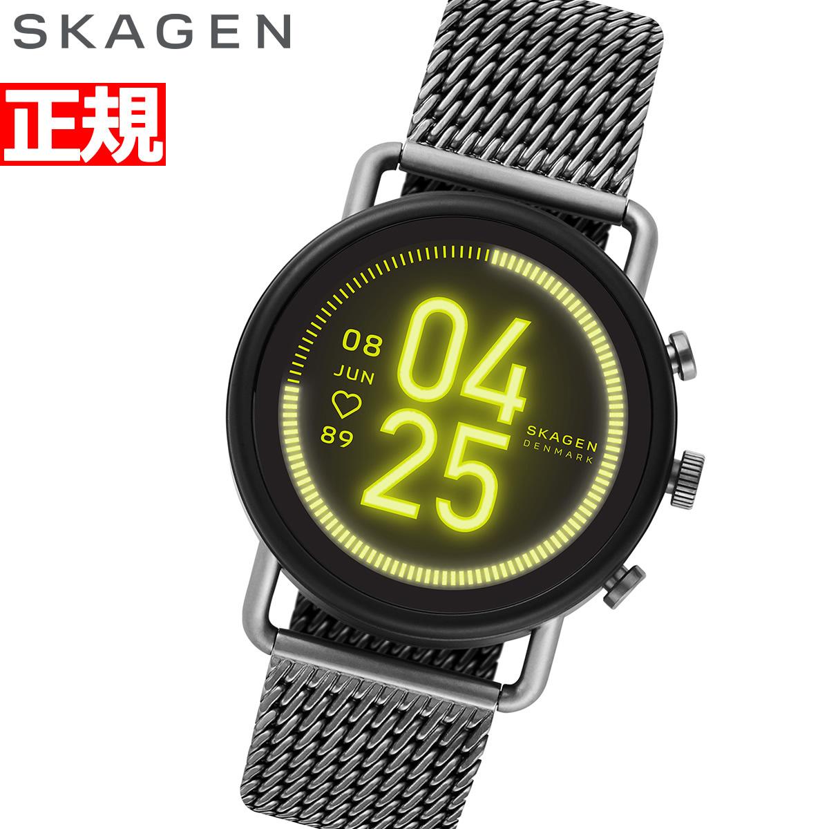 【5日0時~♪2000円OFFクーポン&店内ポイント最大51倍!5日23時59分まで】スカーゲン SKAGEN スマートウォッチ ウェアラブル 腕時計 メンズ レディース フォルスター3 FALSTER 3 SKT5200【2020 新作】