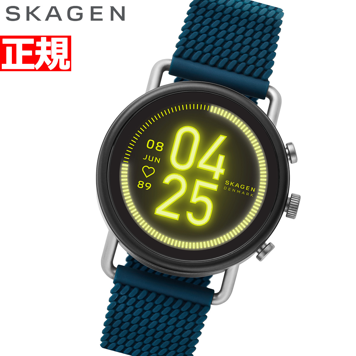 【5日0時~♪2000円OFFクーポン&店内ポイント最大51倍!5日23時59分まで】スカーゲン SKAGEN スマートウォッチ ウェアラブル 腕時計 メンズ レディース フォルスター3 FALSTER 3 SKT5203【2020 新作】