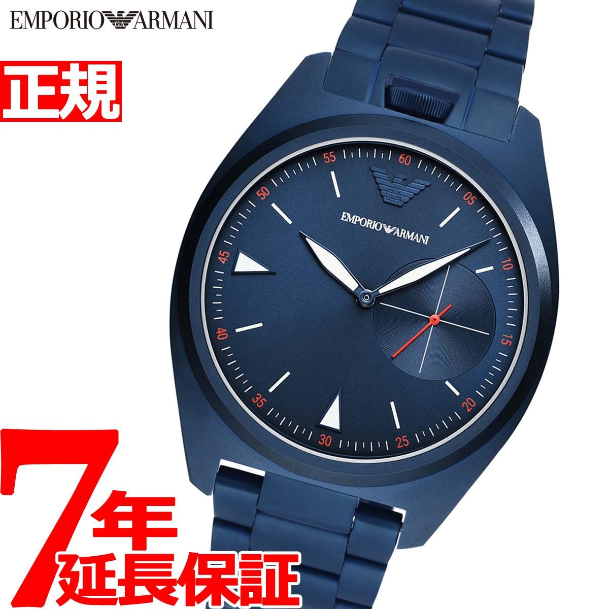 【5日0時~♪10%OFFクーポン&店内ポイント最大51倍!5日23時59分まで】エンポリオアルマーニ EMPORIO ARMANI 腕時計 メンズ AR11309【2020 新作】