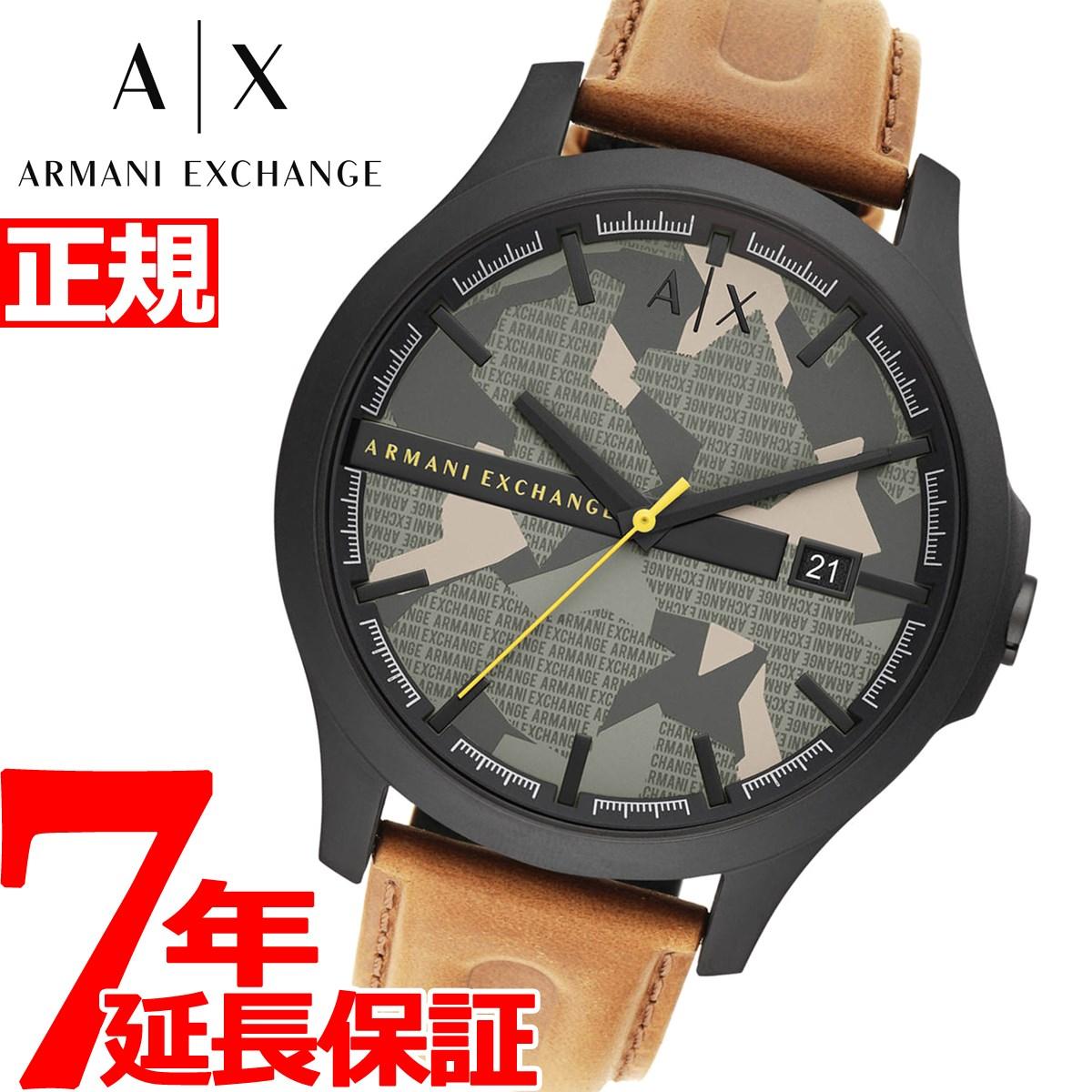 【5日0時~♪10%OFFクーポン&店内ポイント最大51倍!5日23時59分まで】A|X アルマーニ エクスチェンジ ARMANI EXCHANGE 腕時計 メンズ ハンプトン HAMPTON AX2412【2020 新作】