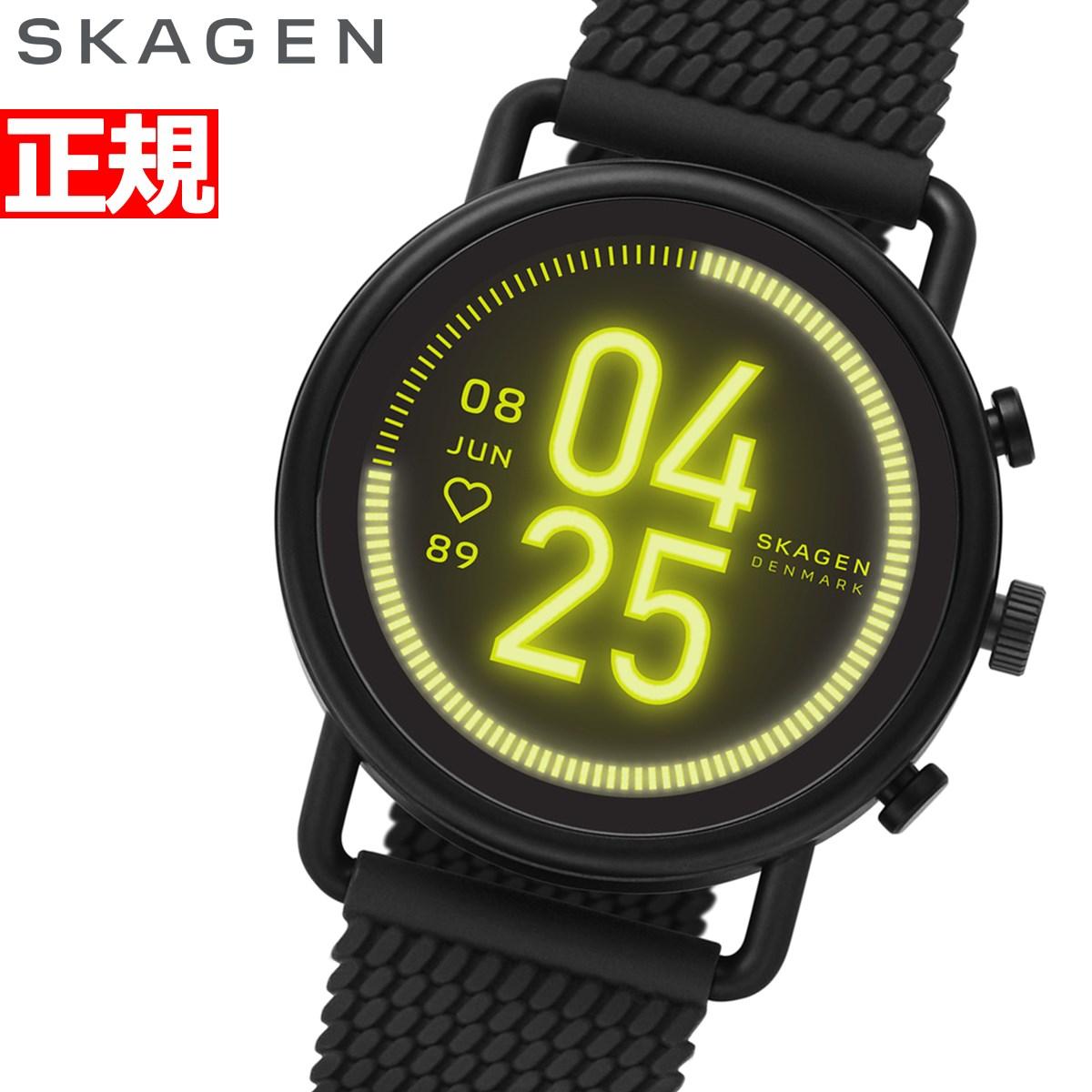 【10日0時~♪店内ポイント最大60倍&2000円OFFクーポン!10日23時59分まで】スカーゲン SKAGEN スマートウォッチ ウェアラブル 腕時計 メンズ レディース フォルスター3 FALSTER 3 SKT5202【2020 新作】