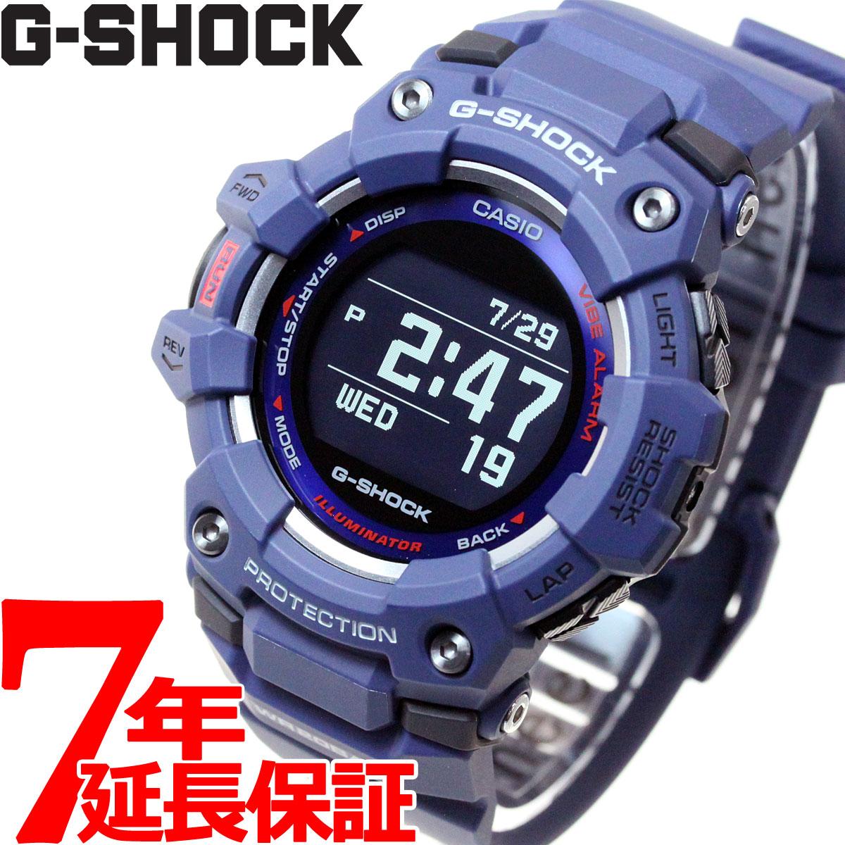 【5日0時~♪2000円OFFクーポン&店内ポイント最大51倍!5日23時59分まで】G-SHOCK G-SQUAD カシオ Gショック ジースクワッド CASIO Bluetooth搭載 GPS 腕時計 メンズ スマートフォンリンク GBD-100-2JF【2020 新作】