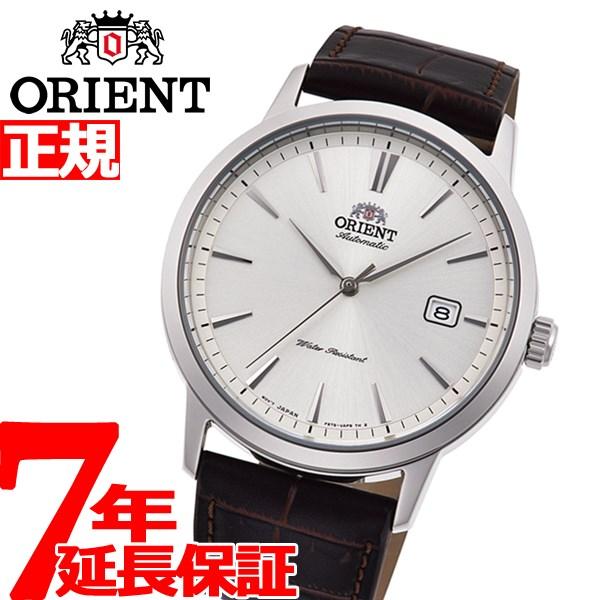 【5日0時~♪2000円OFFクーポン&店内ポイント最大51倍!5日23時59分まで】オリエント 腕時計 メンズ 自動巻き 機械式 ORIENT コンテンポラリー CONTEMPORARY RN-AC0F07S【2020 新作】
