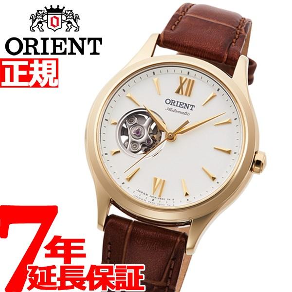 【5日0時~♪2000円OFFクーポン&店内ポイント最大51倍!5日23時59分まで】オリエント 腕時計 レディース 自動巻き 機械式 ORIENT クラシック CLASSIC セミスケルトン RN-AG0728S【2020 新作】